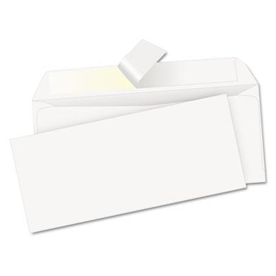 Redi-strip envelope, contemporary, #10, white, 500/box, sold as 1 box, 500 each per box