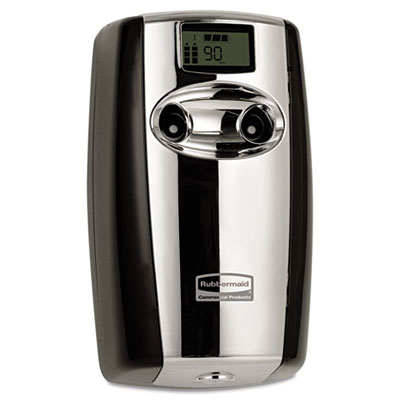 Microburst duet odor control system, 3 1/2w x 5 1/5d x 8 39/50h, black/chrome, sold as 1 each