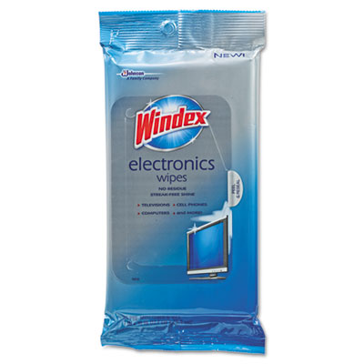 Electronics cleaner, 25 wipes, 12 packs per carton, sold as 1 carton, 12 each per carton