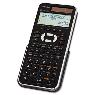 El-w516xbsl scientific calculator, 16-digit lcd, sold as 1 each