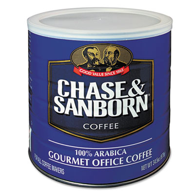 Coffee, regular, 34.5oz can, sold as 1 each