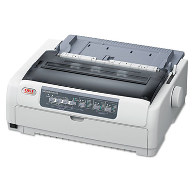 Microline 620 9-pin narrow carriage dot matrix printer, sold as 1 each