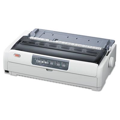 Microline 621 9-pin wide carriage dot matrix printer, sold as 1 each