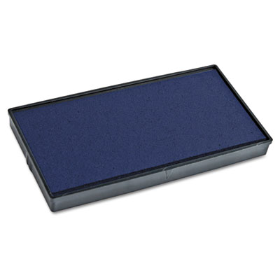 Replacement ink pad for 2000 plus 1si50p, blue, sold as 1 each