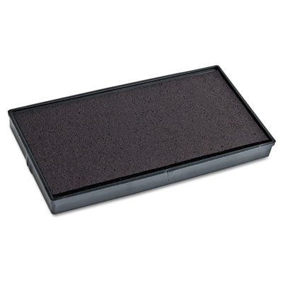 Replacement ink pad for 2000 plus 1si30pgl, black, sold as 1 each