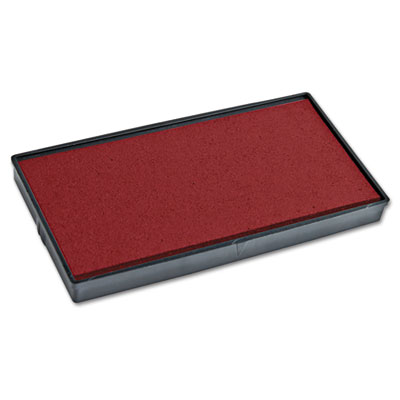 Replacement ink pad for 2000 plus 1si20pgl, red, sold as 1 each