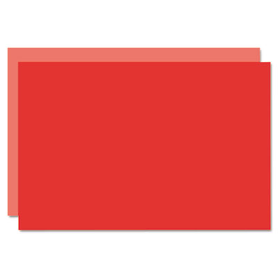 Too cool foam board, 20x30, light red/red, 5/carton, sold as 1 carton, 5 each per carton