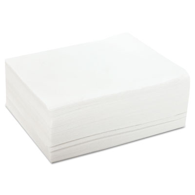 Durawipe towels, 12 x 13 1/2, white, 50 wipers/pack, 20 packs/carton, sold as 1 carton, 1000 each per carton
