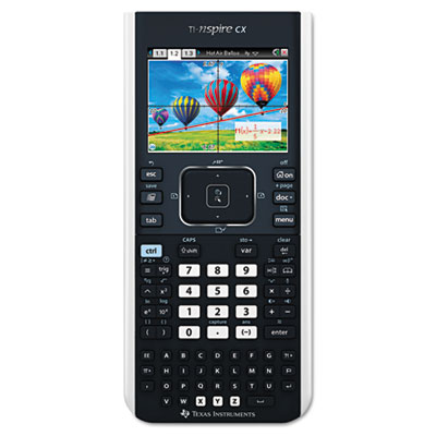 Ti-nspire cx handheld graphing calculator with full-color display, sold as 1 each