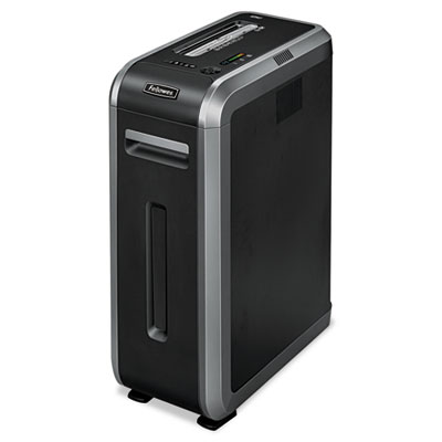 Powershred 125i 100% jam proof heavy-duty strip-cut shredder, 18 sheet capacity, sold as 1 each