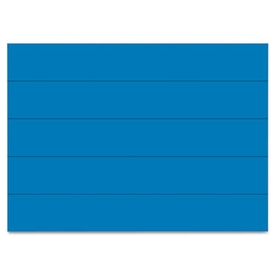"Dry erase magnetic tape strips, blue, 6"" x 7/8"", 25/pack, sold as 1 package"