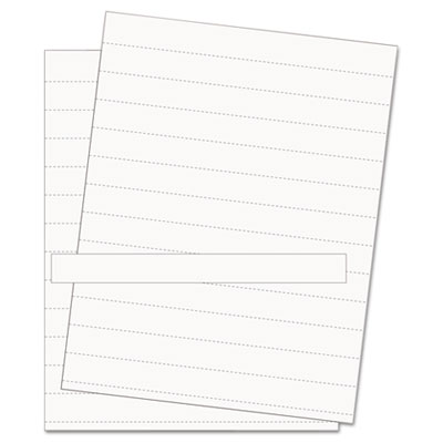 Data card replacement sheet, 8 1/2 x 11 sheets, white, 10/pk, sold as 1 package
