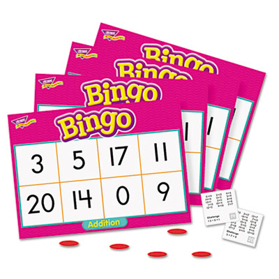 Young learner bingo game, addition, sold as 1 each