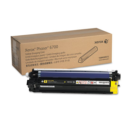 108r00973 imaging unit, 50,000 page-yield, yellow, sold as 1 each