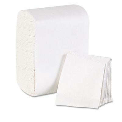 Low fold dispenser napkins, 7 x 12, white, 8000/carton, sold as 1 carton, 8000 each per carton