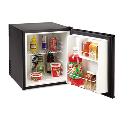 1.7 cu.ft superconductor compact refrigerator, black, sold as 1 each