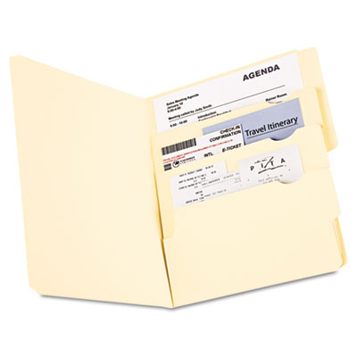 Divide it up file folder, multi section, 1/2 cut tab, letter, manila, 24 pack, sold as 1 package