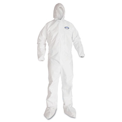 A40 coverall to-go, microporous film laminate, xl, white, 25/carton., sold as 1 carton, 25 each per carton