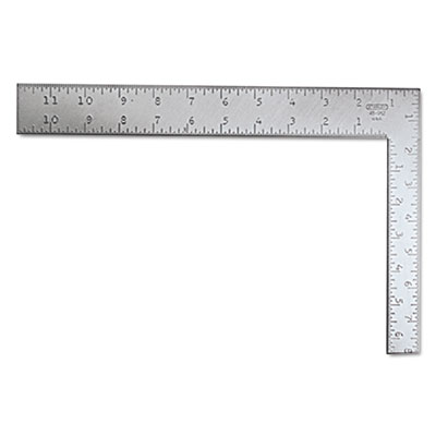 Carpenter's square, steel, 12, sold as 1 each