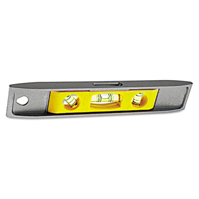 "Magnetic torpedo level, 9"""", aluminum, sold as 1 each"