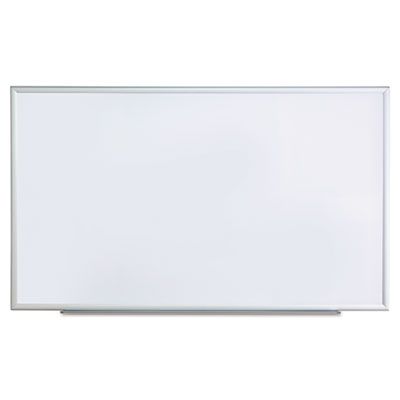 Dry erase board, melamine, 60 x 36, satin-finished aluminum frame, sold as 1 each