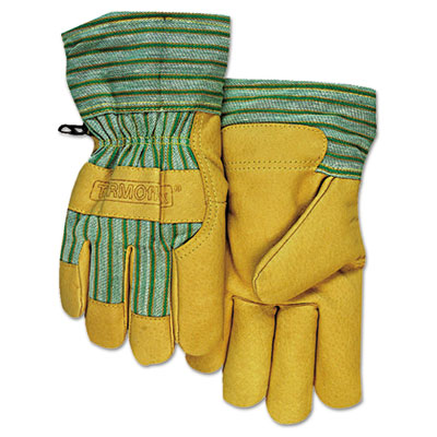 Cw-777 pigskin cold weather gloves, large, sold as 6 pair