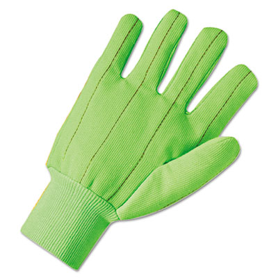 1000 series canvas gloves, green, sold as 12 each