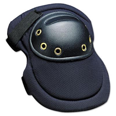"""Maxknee knee protection, hook & loop closure, nylon/foam/abs, navy, 8""""""""w x 11""""""""l, sold as 1 pair, 2 per pair"""