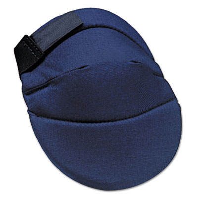 Deluxe soft knee pads, blue, sold as 1 pair, 2 per pair