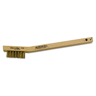 Utility brush, brass, sold as 1 each