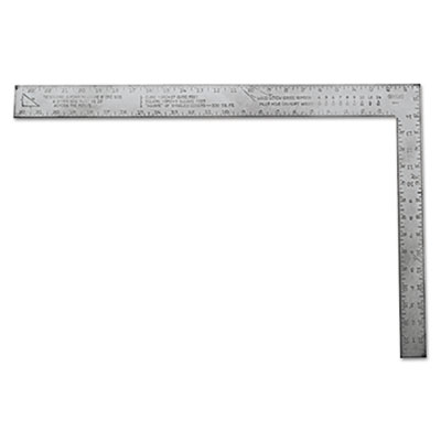 Homeowner's aluminum carpenter square, sold as 1 each