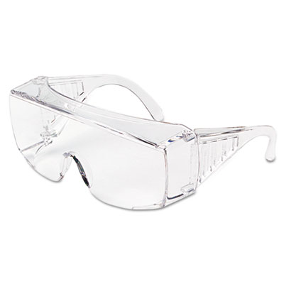 Yukon uncoated protective eyewear, clear, x-large, sold as 1 each
