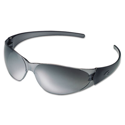 Checkmate safety glasses, silver-mirrored lens, sold as 1 each