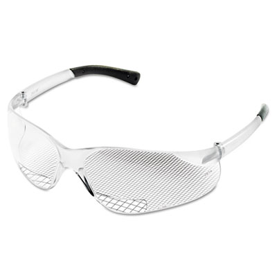 Bearkat magnifier protective eyewear, clear, 1.00 diopter, sold as 1 each