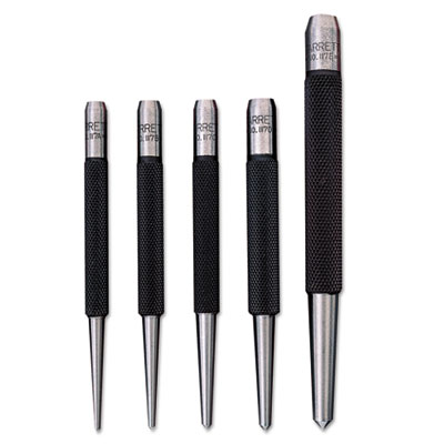 5-piece center punch set, sold as 5 each