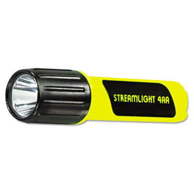 Propolymer c4 lux led flashlight, 4aa (included), yellow, sold as 1 each