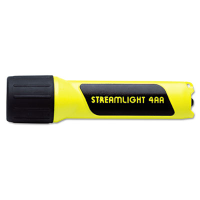 Propolymer flashlight, xeon, 4aa (incl), yellow, sold as 1 each