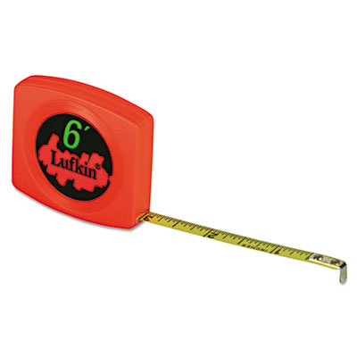 Pee wee pocket measuring tape, 10ft, sold as 1 each