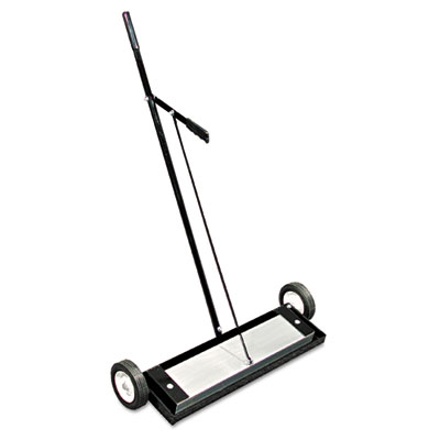Magnetic floor sweeper, with release, 24in, sold as 1 each