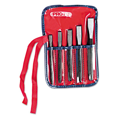 5-piece cold chisel set, sold as 5 each