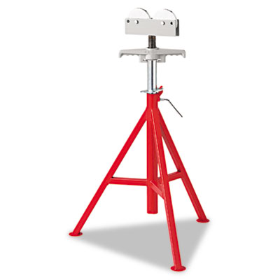 "Rj-99 high pipe stand, 32"""" to 55"""" high, red, sold as 1 each"