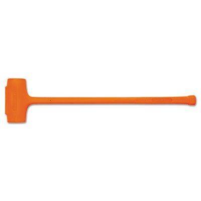 Compo-cast soft-face sledge hammer, 11.5lb, forged steel handle, sold as 1 each