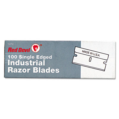 Single edge scraper razor blades, 100 box, sold as 100 each