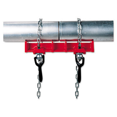 Straight pipe welding vise, 8in capacity, sold as 1 each