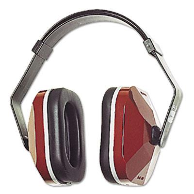 E?a?r model 1000 earmuffs, 20nrr, maroon/black, sold as 1 each