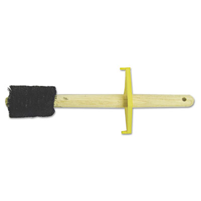 "Straight dope brush, 7"""" brush, 1-1/2"""" bristles, wood/horsehair/aluminum, sold as 12 each"