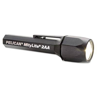 Mitylite superduper flashlight, 2aa, black, xenon, sold as 1 each