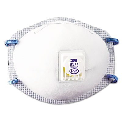 Particulate respirator 8577, p95, 10/box, sold as 10 each