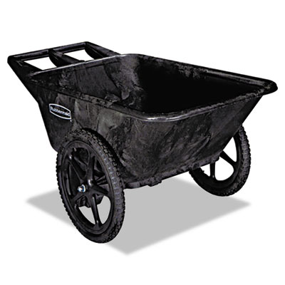 Big wheel agriculture cart, 300-lb cap, 32-3/4 x 58 x 28-1/4, black, sold as 1 each