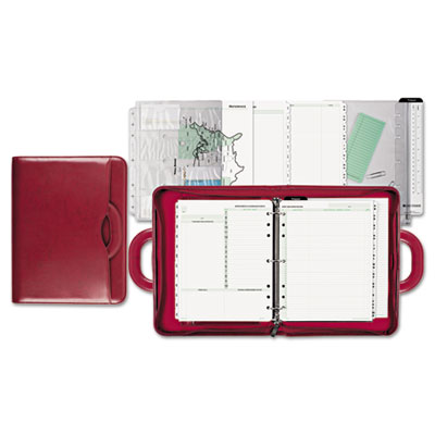 Red attache starter set, 8 1/2 x 11, red, sold as 1 each